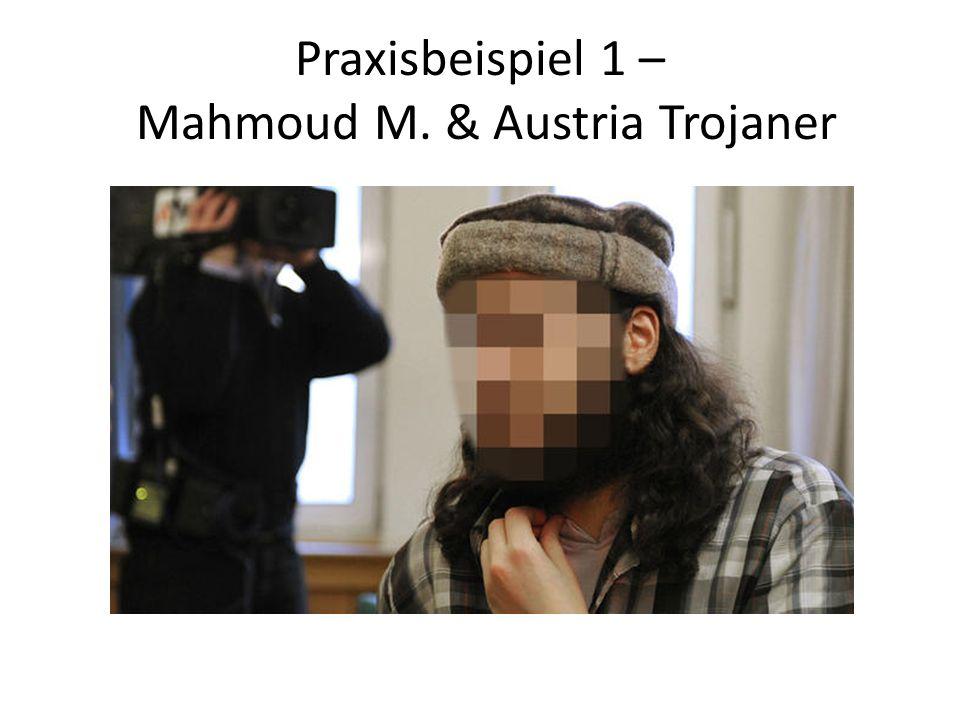 Praxisbeispiel 1 – Mahmoud M. & Austria Trojaner
