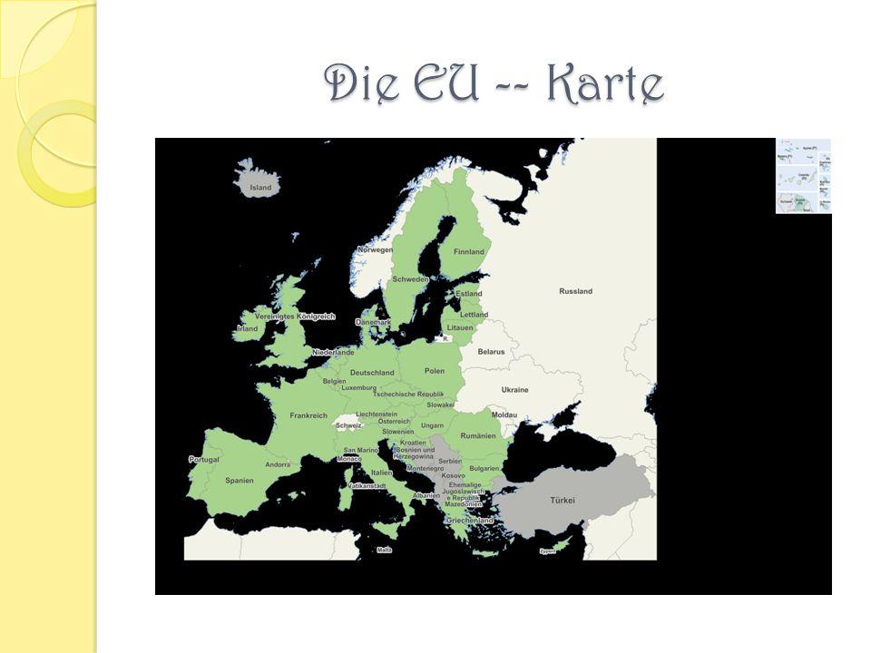 Die EU -- Karte