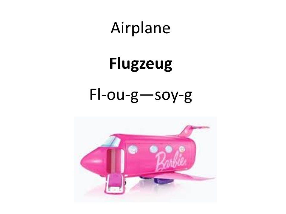 Flugzeug Airplane Fl-ou-gsoy-g