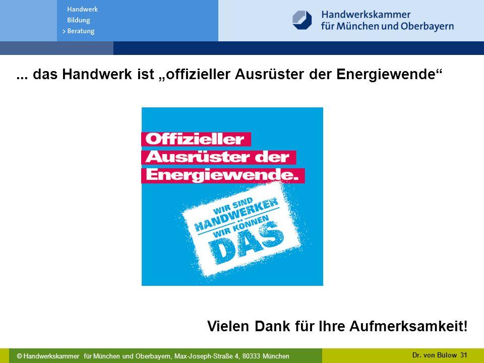 © Handwerkskammer für München und Oberbayern, Max-Joseph-Straße 4, 80333 München...