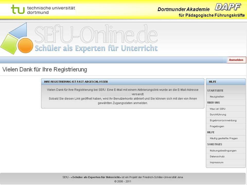 Dortmunder Akademie für Pädagogische Führungskräfte Dortmund 07/11 Folie 36 Hans-Günter Rolff