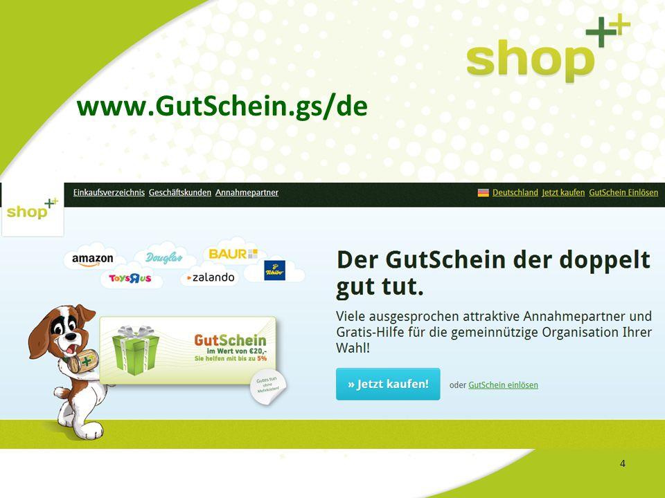 4 www.GutSchein.gs/de
