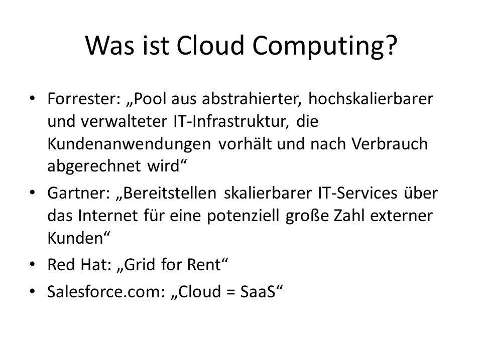Cloud Computing is just another form of outsourcing Martin Buhr Amazon Web Services