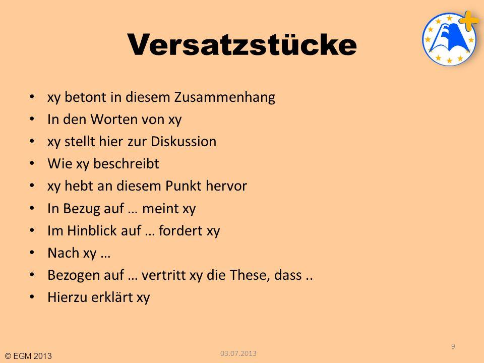 © EGM 2013 Besonderheiten I Monographie Hug, Theo (Hrsg.) (2001).