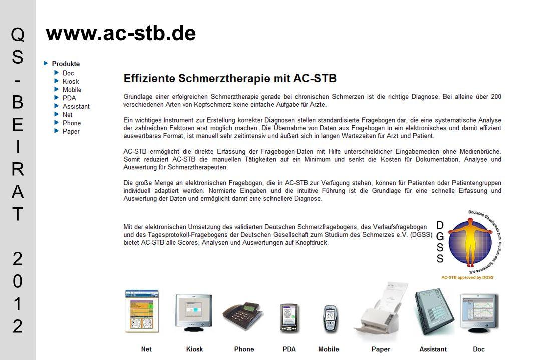 QS-BEIRAT 2012QS-BEIRAT 2012 www.ac-stb.de