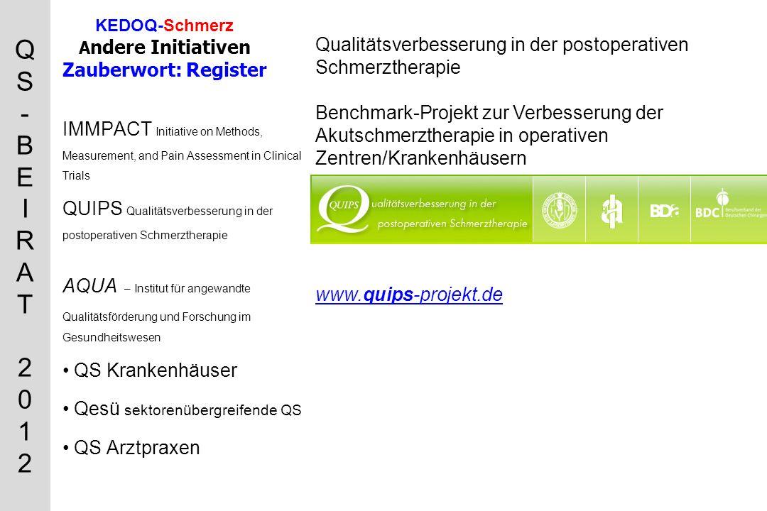 QS-BEIRAT 2012QS-BEIRAT 2012 www. pain- detect.de