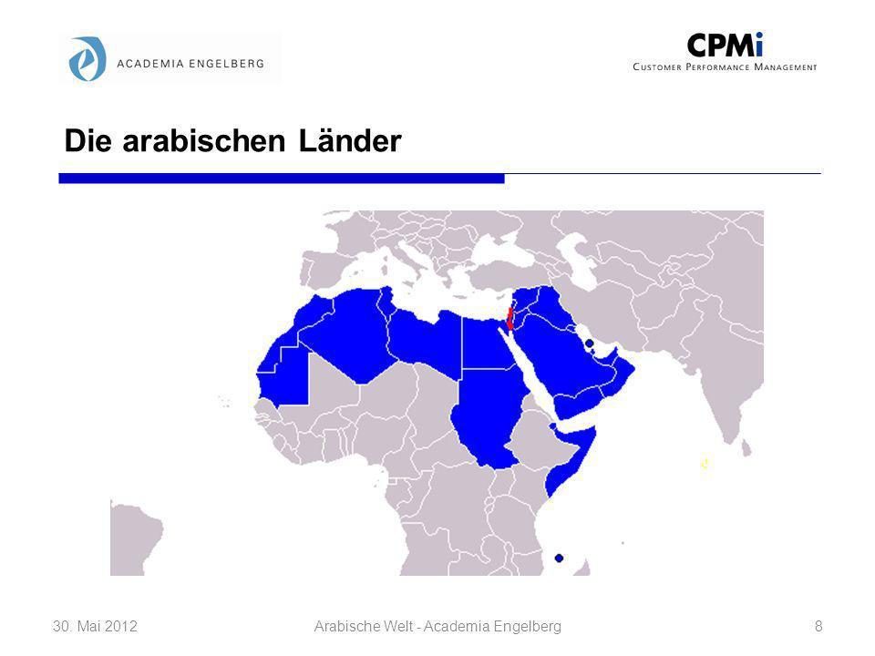 Geschichte ohne Geschichtsbewusstsein 30. Mai 201219Arabische Welt - Academia Engelberg