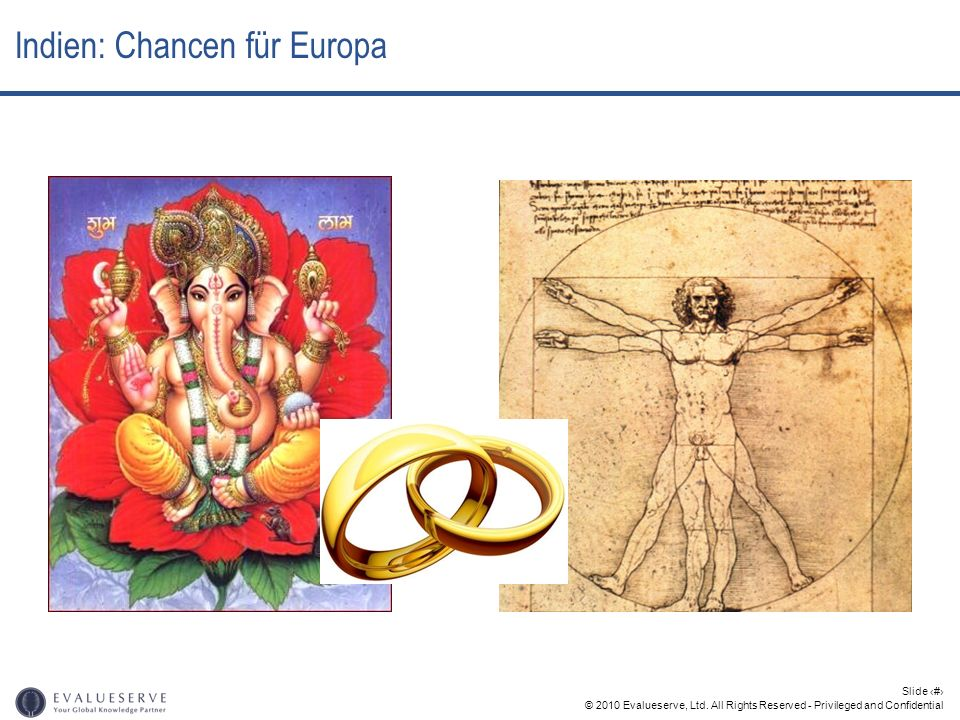 © 2010 Evalueserve, Ltd. All Rights Reserved - Privileged and Confidential Slide 21 Indien: Chancen für Europa