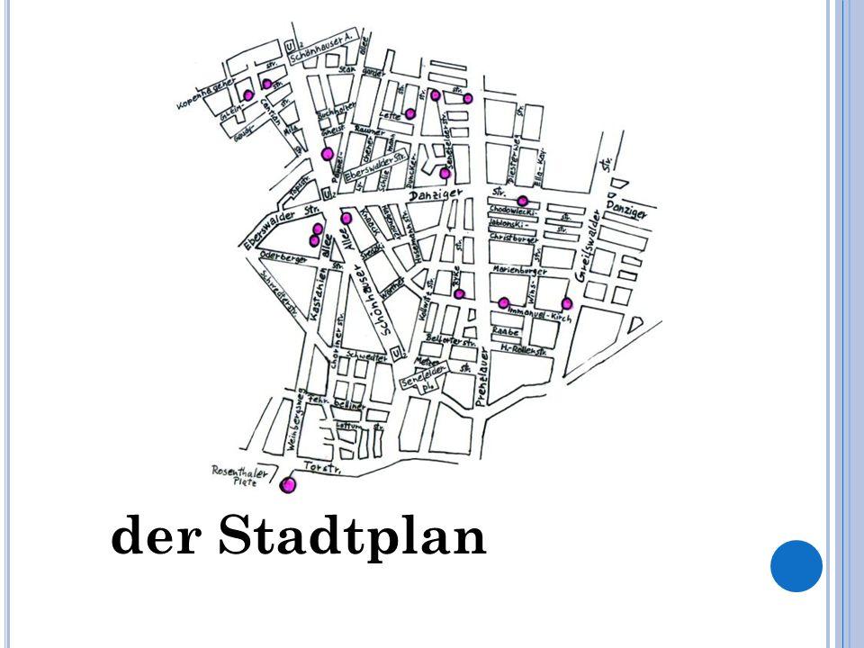 der Stadtplan