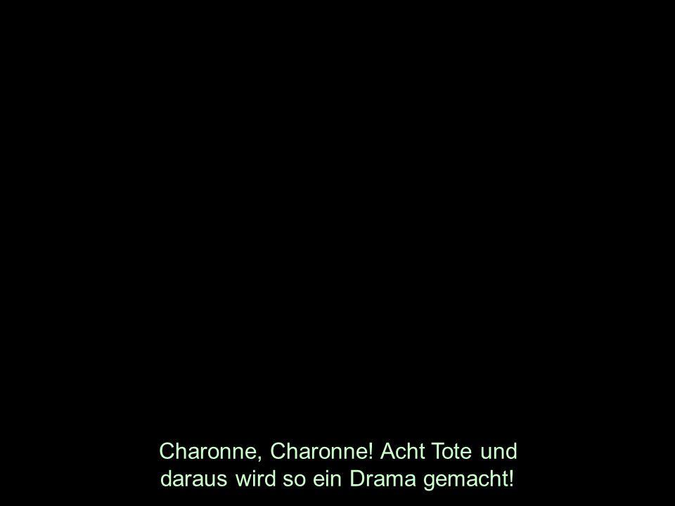 Charonne, Charonne! Acht Tote und daraus wird so ein Drama gemacht!