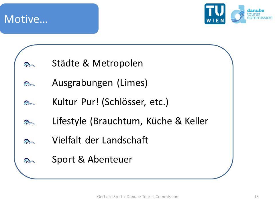 13Gerhard Skoff / Danube Tourist Commission Motive… Städte & Metropolen Ausgrabungen (Limes) Kultur Pur! (Schlösser, etc.) Lifestyle (Brauchtum, Küche