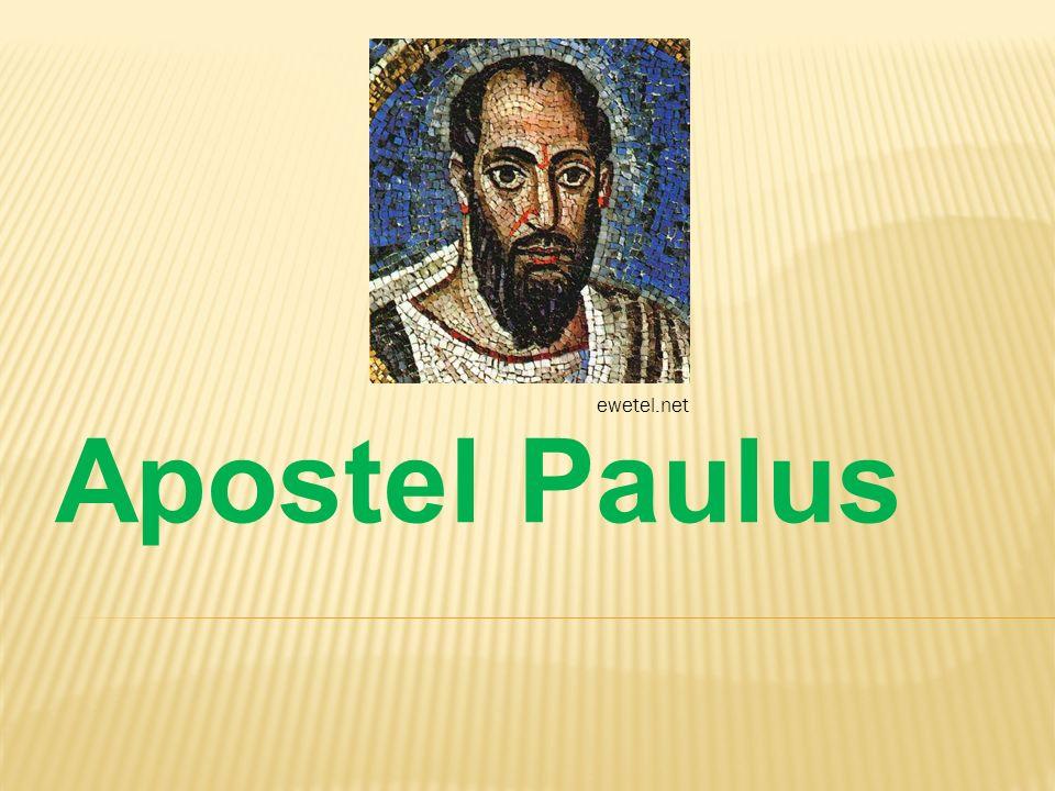 Apostel Paulus ewetel.net