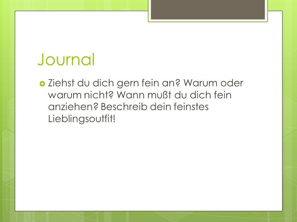 Journal Was isst du am liebsten, wenn du sehr viel Hunger hast?