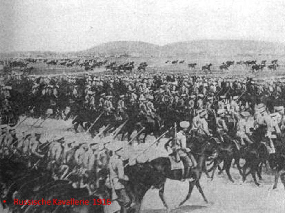 Russische Kavallerie 1916
