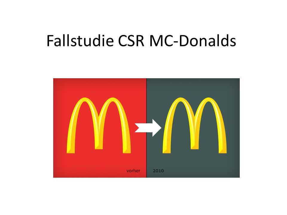 Fallstudie CSR MC-Donalds