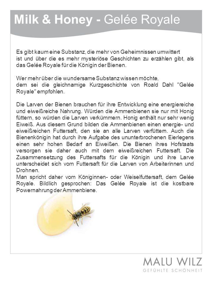 Milk & Honey - Wirkstofflexikon Rosmarin Extrakt Sehr beliebt als Gewürz- und Heilpflanze.