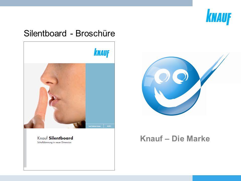 Silentboard - Broschüre Knauf – Die Marke