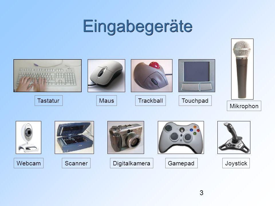 24 Speichergrößen ca.1. Bill. Zeichen=2 40 Byte =1024 Gigabyte 1 TB (Terabyte) ca.