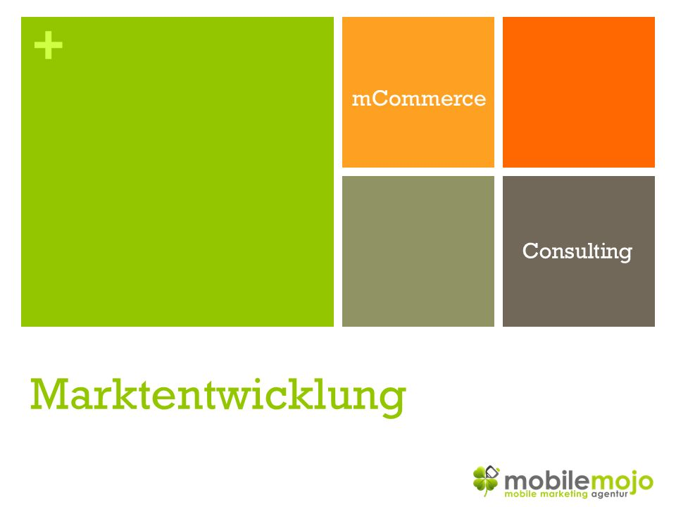 + mCommerce Consulting Marktentwicklung