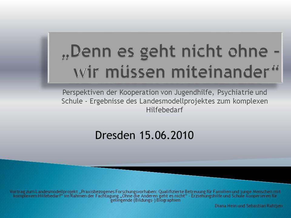 Einordnung und Vorstellung des Projekts Informationen zur wissenschaftlichen Begleitung Exemplarische Ergebnisse im Bereich Schule