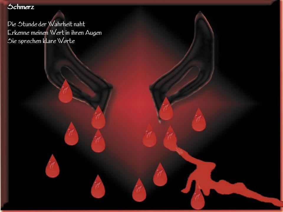 Wirres Leben und Streben Hinauf und hinab ohne Ziel Nächte mit Träumen in Tränen Ein endloses Sehnen
