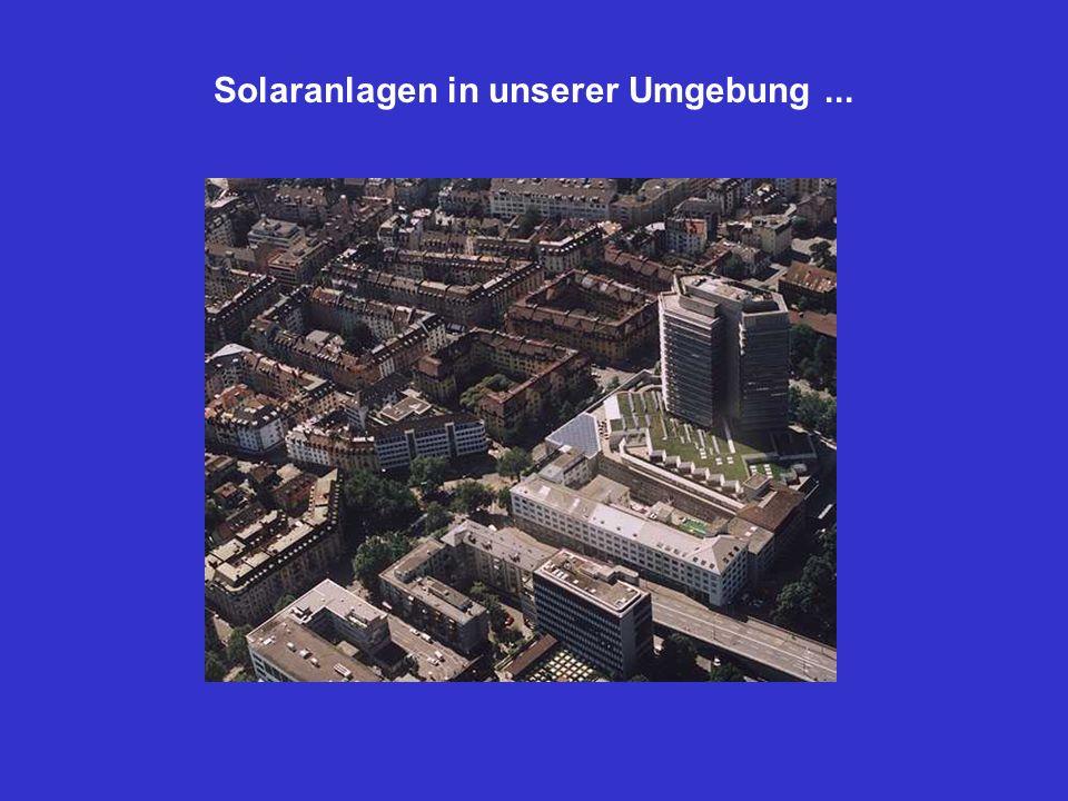 Solaranlagen in unserer Umgebung...