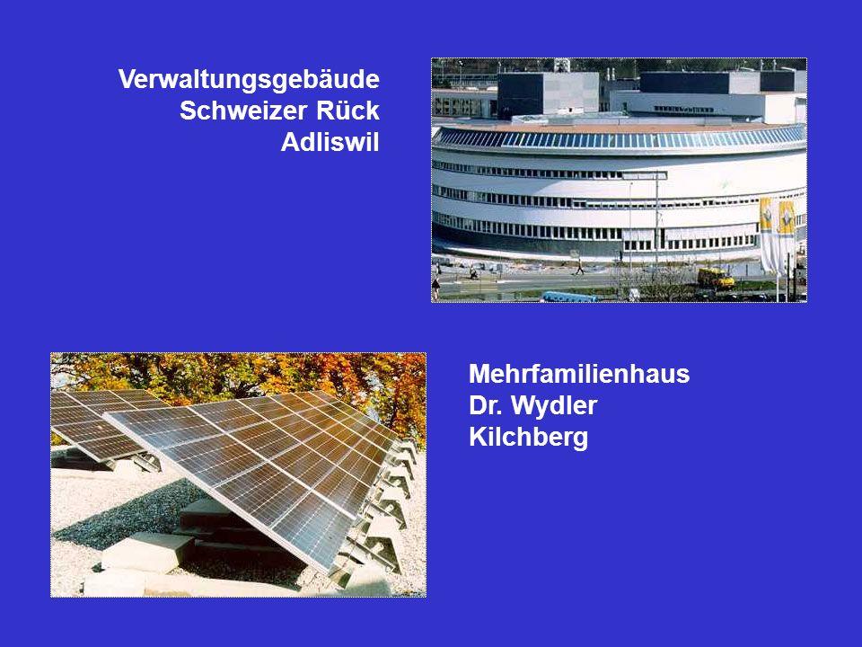 Verwaltungsgebäude Schweizer Rück Adliswil Mehrfamilienhaus Dr. Wydler Kilchberg