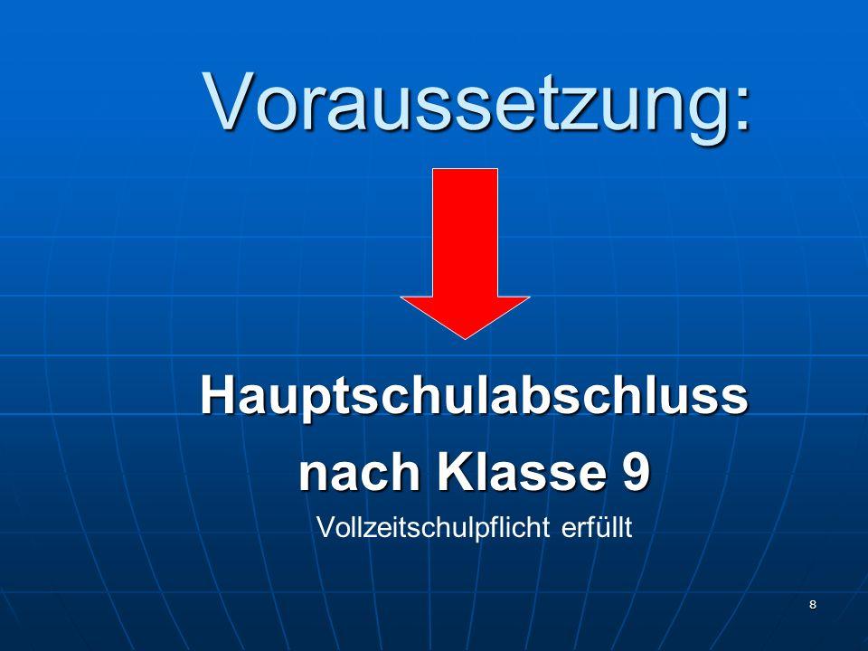 29 Stundentafel ( Erzieherin/Erzieher und Allgemeine Hochschulreife) ca.