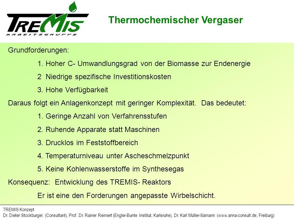 TREMIS Konzept Dr.Dieter Stockburger, (Consultant), Prof.