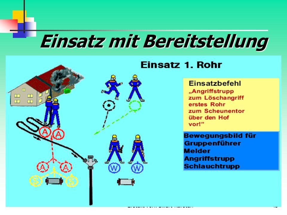 Erstellt von: Billert Karsten43 Einsatz mit Bereitstellung