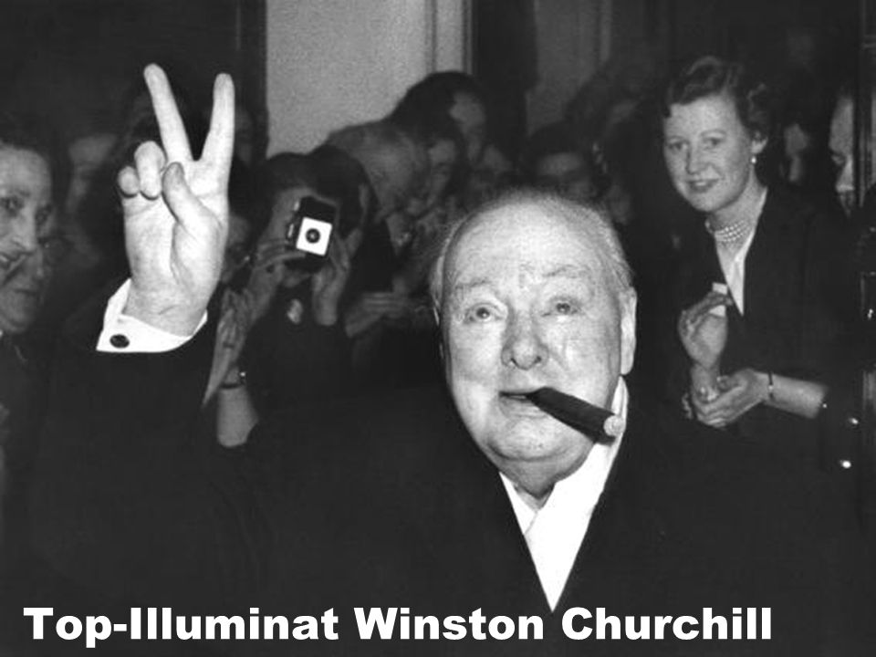 Top-Illuminat Winston Churchill