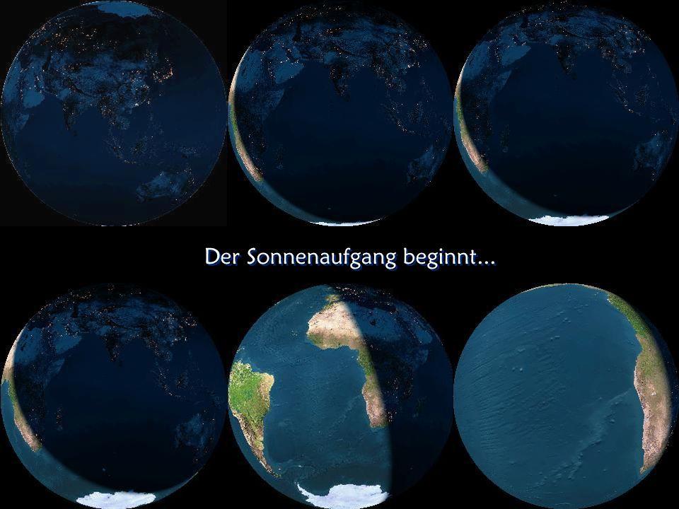 Licht auf der Erde zur Nachtzeit Licht auf der Erde zur Nachtzeit