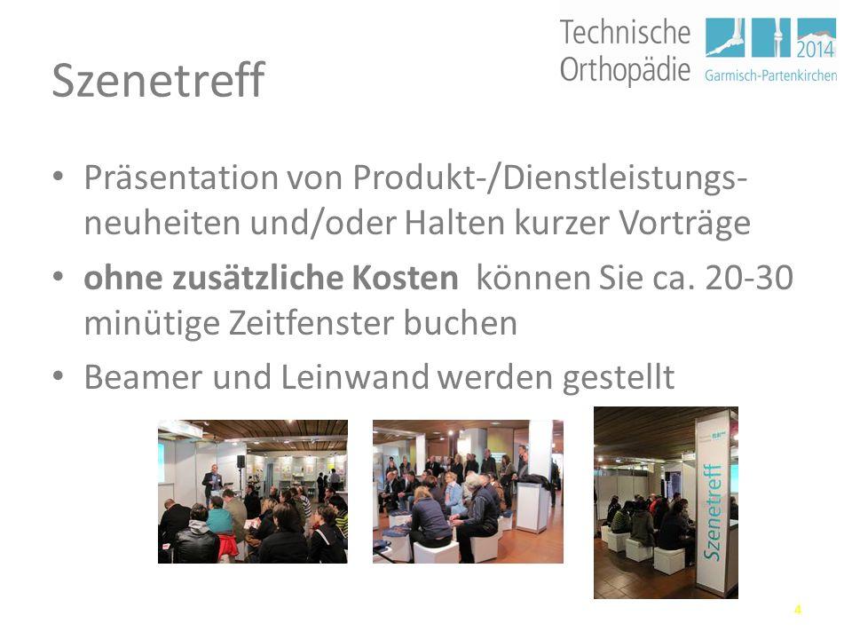 Fachprogramm hohes Niveau der wissenschaftlichen Vorträge und Workshops zieht Fachpublikum aus ganz Deutschland an fester Bestandteil der bundesweiten Fortbildungs- und Messelandschaft 3
