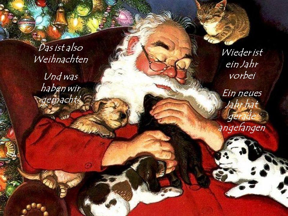 Fröhliche Weihnachten Und ein gutes Neue Jahr Hoffen wir, dass es ein gutes Jahr werden wird ohne Angst
