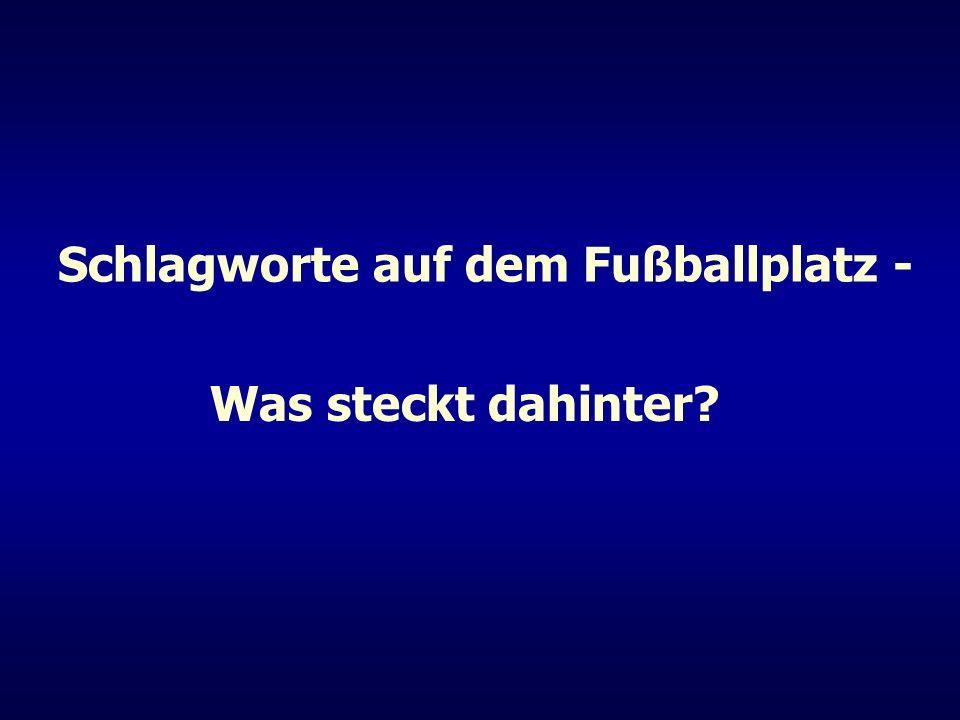 Regel 12 Anweisungen des DFB Nr.12 Normalerweise wird ein Spieler wegen Handspiels nicht verwarnt.