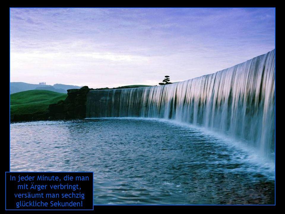 Je genauer Du planst, desto härter trifft Dich der Zufall. Darum: sorge Dich nicht – lebe!