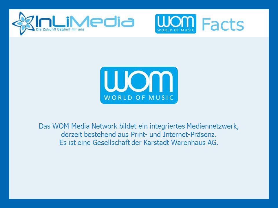 Das WOM Media Network bildet ein integriertes Mediennetzwerk, derzeit bestehend aus Print- und Internet-Präsenz.