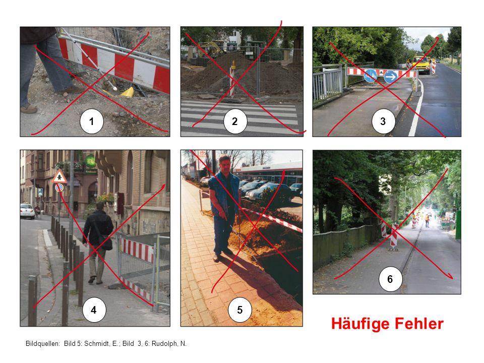 Bildquellen: Bild 5: Schmidt, E.; Bild 3, 6: Rudolph, N. Häufige Fehler 123 45 6