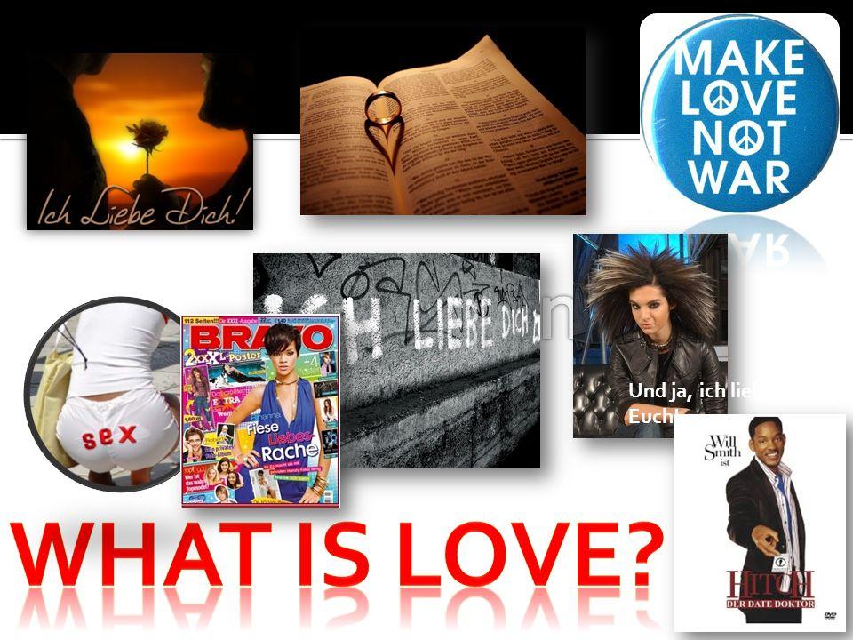 Keine Begierde (starkes Verlangen/Lust) Jon Bon Jovi sagte einmal: Die heutigen Lieder handeln von der Begierde, nicht von Liebe Liebe bringt Nutzen; Begierde benutzt Liebe hat Bestand; Begierde ist nur für den Augenblick Liebe gibt; Begierde verlangt (muss etwas unbedingt haben) 1Thess 4,5: dass jeder von euch sein eigenes Gefäß in Heiligkeit und Ehrbarkeit zu besitzen wisse, nicht in Leidenschaft der Lust, wie auch die Nationen, die Gott nicht kennen Spr 21,26: Den ganzen Tag begehrt und begehrt man, aber der Gerechte (Gottesfürchtige) gibt und hält nicht zurück.