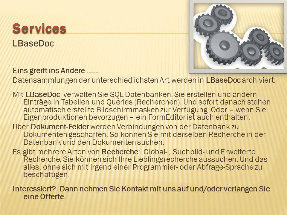 Guter Service orientiert sich an den Kundenbedürfnissen. Benötigen Sie individuelle Software, die von keiner Standardsoftware abgedeckt werden kann? D