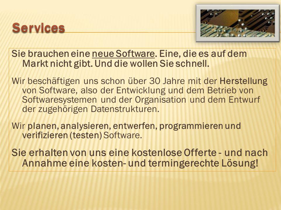 Ein neues Software-Paket soll in Produktion gehen und Ihren Betrieb möglichst fehlerfrei verlassen.