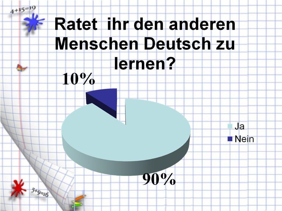 Ohne Fleiß kein Preis, ohne Deutsch keine Zukunft!