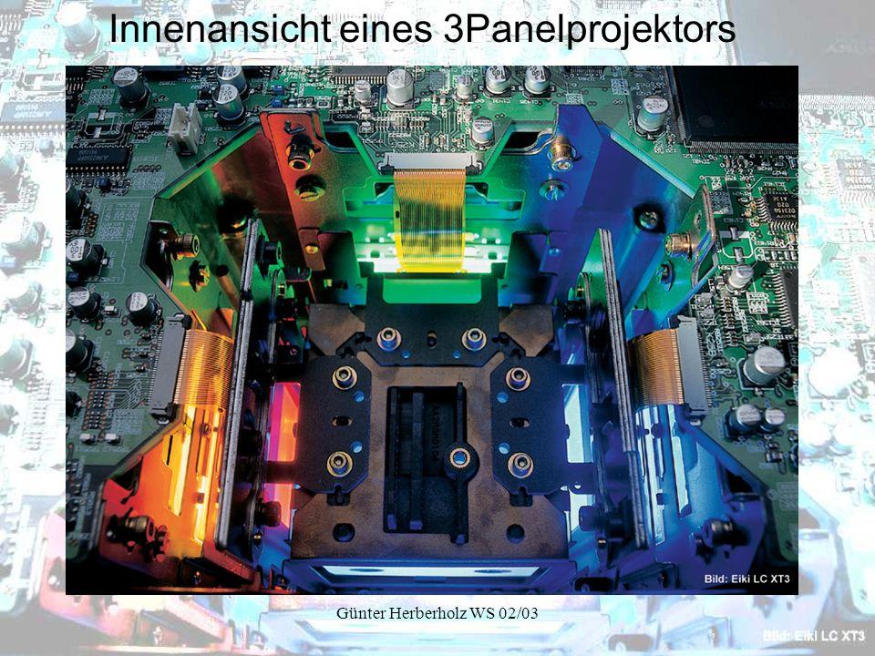 Günter Herberholz WS 02/03 Innenansicht eines 3Panelprojektors