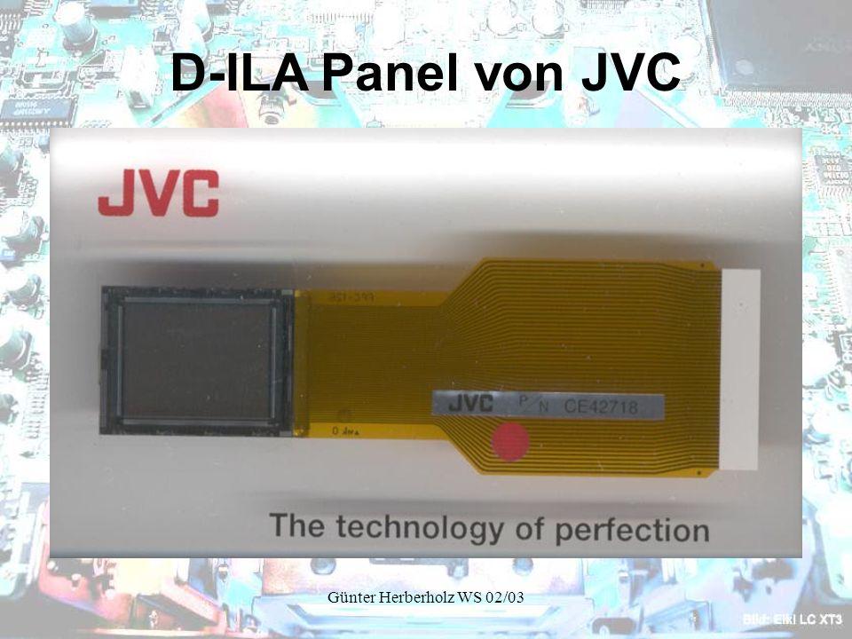 Günter Herberholz WS 02/03 D-ILA Panel von JVC