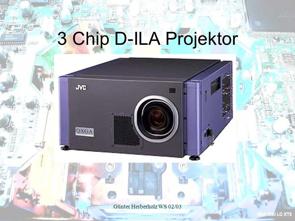 Günter Herberholz WS 02/03 3 Chip D-ILA Projektor