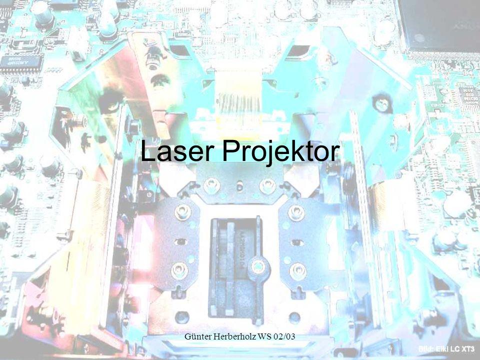 Günter Herberholz WS 02/03 Laser Projektor
