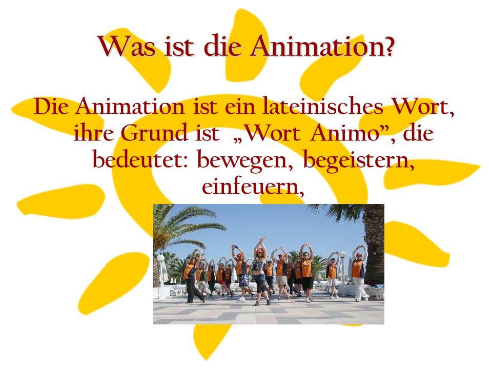 Wer ist die Animator.