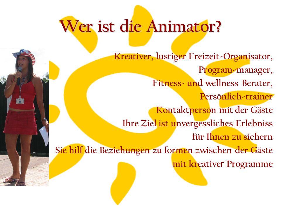 Warum und für Wem ist die Animation gut.