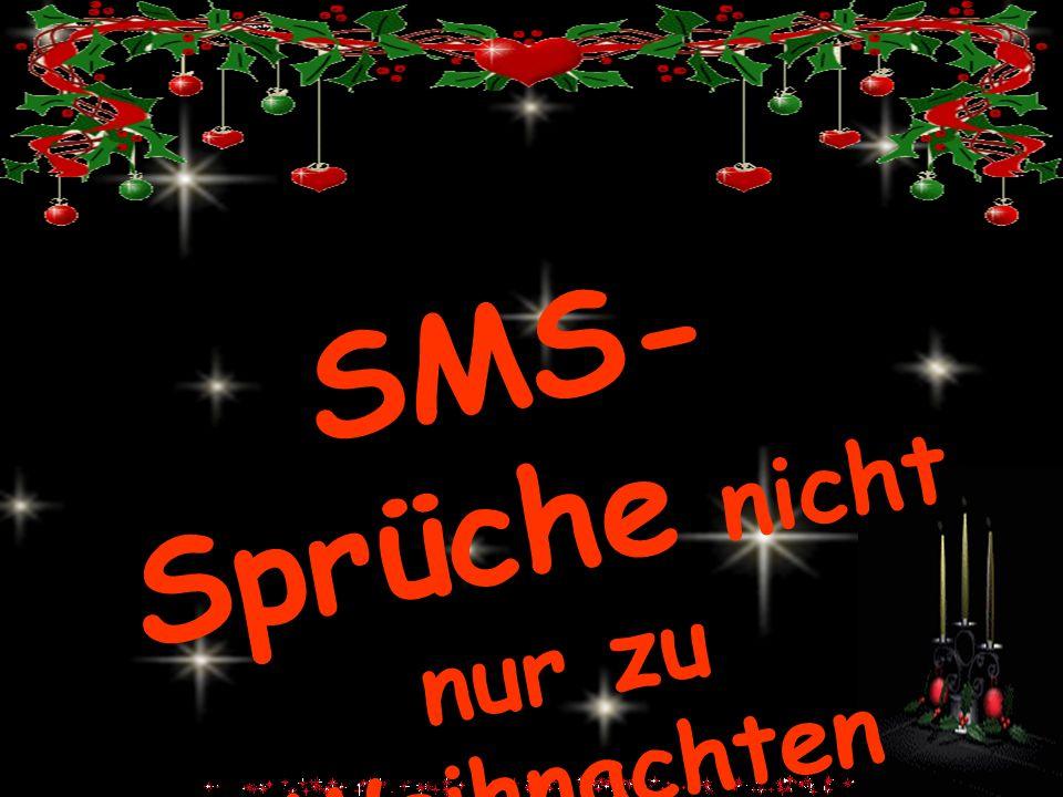 SMS- Sprüche nicht nur zu Weihnachten