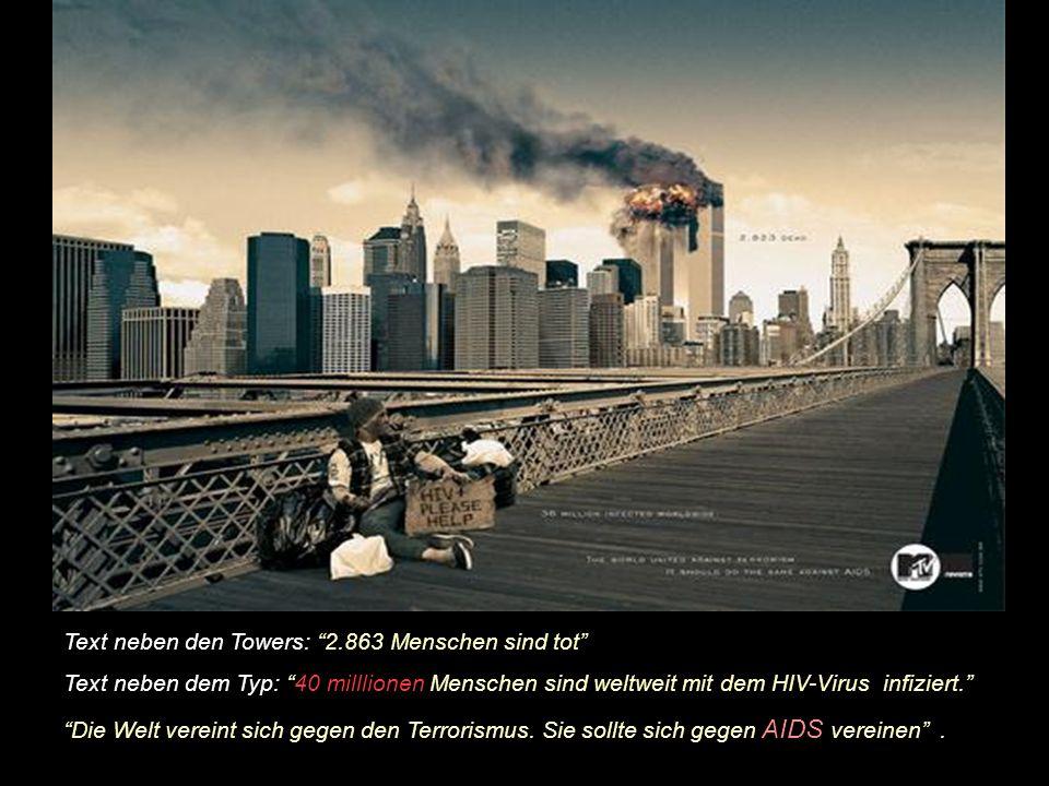 Diese Werbung von MTV wurde durch die amerikanische Regierung zur Austrahlung gesperrt.